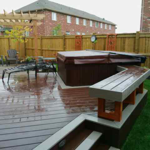 Composite Decks Burlington Oakville Mississauga Ontario
