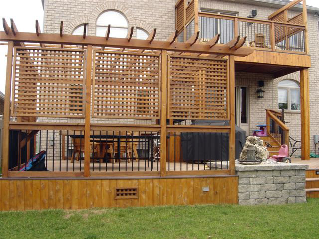 deck privacy screen images galleries