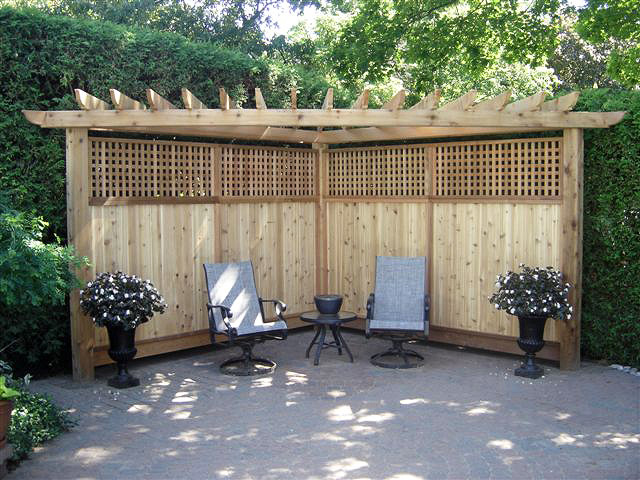 Privacy screens burlington oakville mississauga ontario for Hanging privacy screens for decks