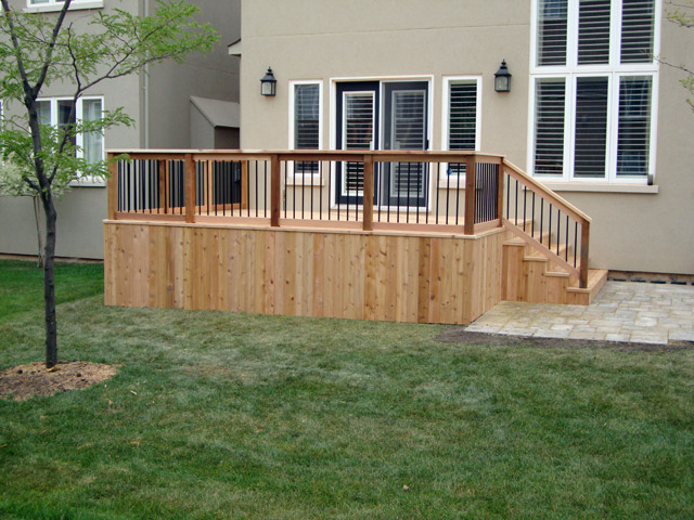Deck Railing Styles Burlington Oakville Mississauga